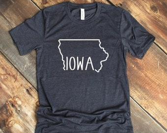 dd796da9d6e Iowa T-Shirt - T-Shirt - Mens - Womens- Unisex Shirt - Iowa Pride - Iowa -  Christmas Gift - Birthday Gift