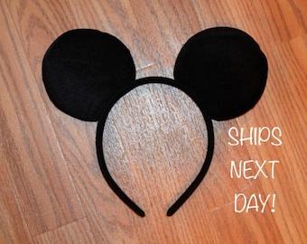 FREE SHIPPING********Mickey Mouse Ears Headband