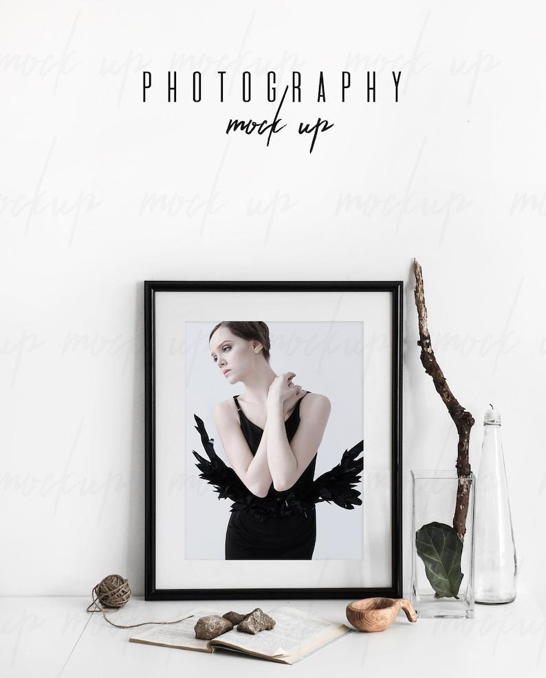 434ca3f2fef0 Mockup Frame Portrait Frame Mockup Stock Photography