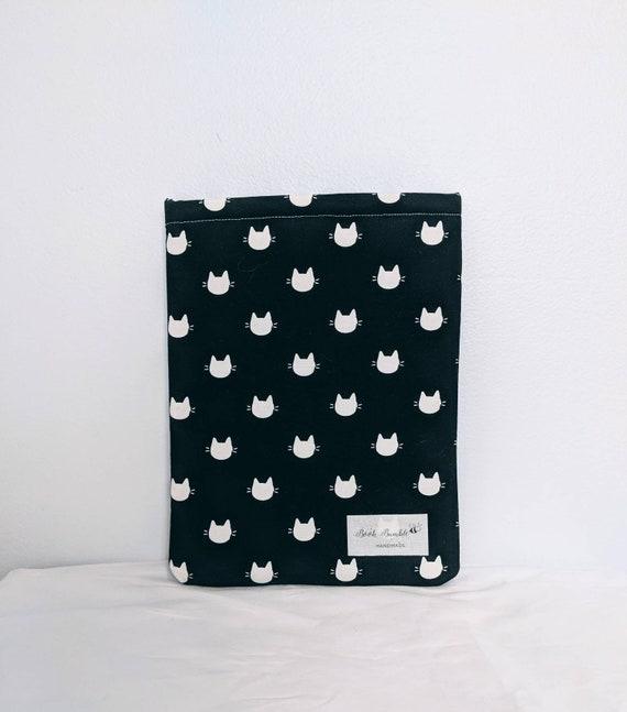 Chats Noir Et Blanc Classique Livre Bumble Manches Livre Couverture De Livre Housse De Protection