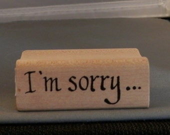 I'm sorry ... Rubber Stamp