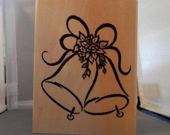 Wedding Bells Rubber Stamp