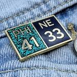 Super Bowl LII Score - Hard Enamel Gold Lapel Pin | Philadelphia Eagles Superbowl LII