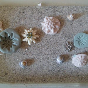 Corsican Moorish silicone mold for polymer clay wepam plaster