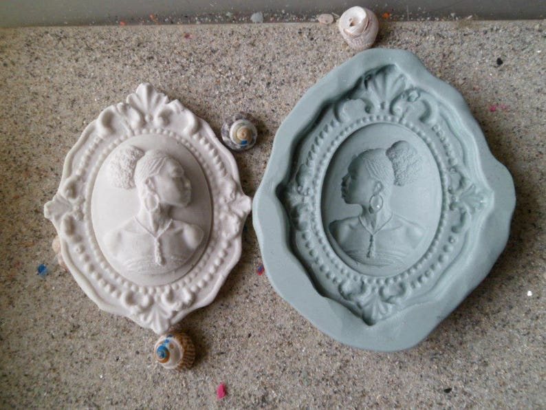 Two piece Candle Silicone Mold Cup&Coaster Mold Creative
