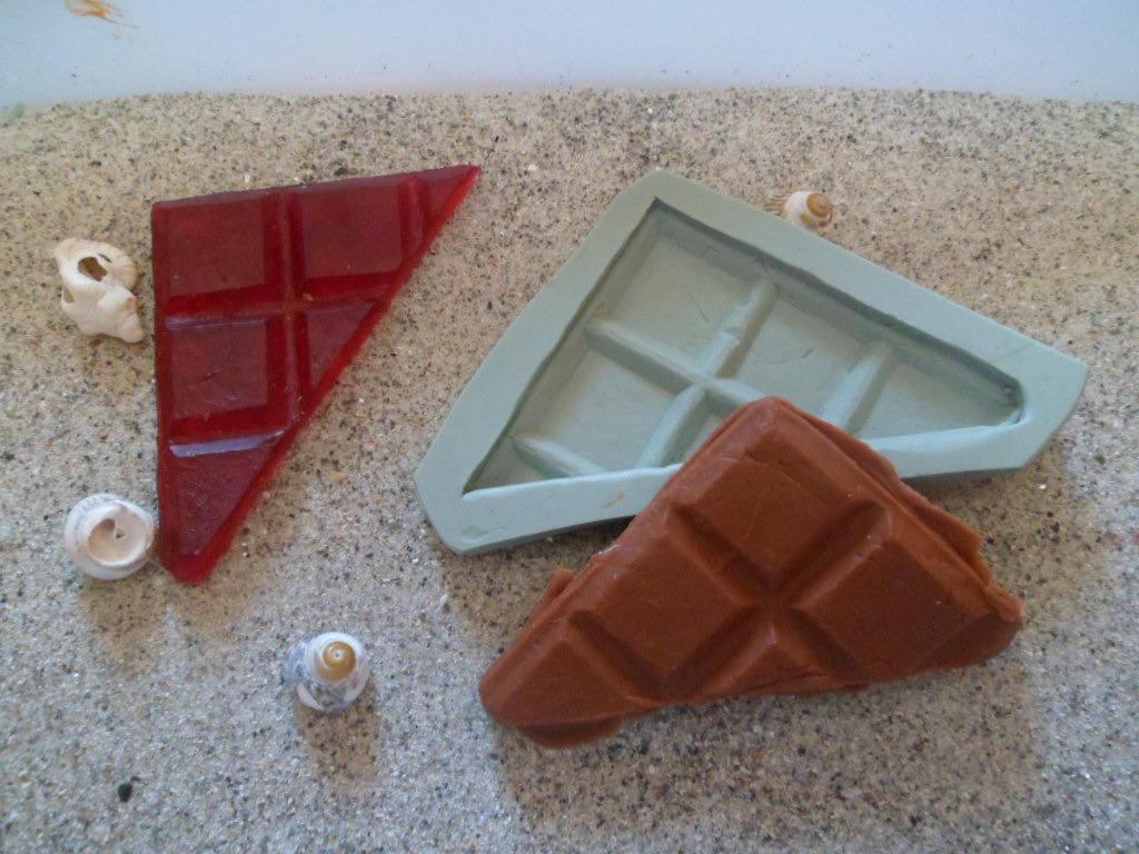 moule silicone chocolat casse pour fimo wepam platre etsy. Black Bedroom Furniture Sets. Home Design Ideas