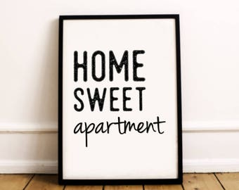 Apartment wall art | Etsy