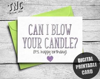 Kinky Birthday Card Etsy