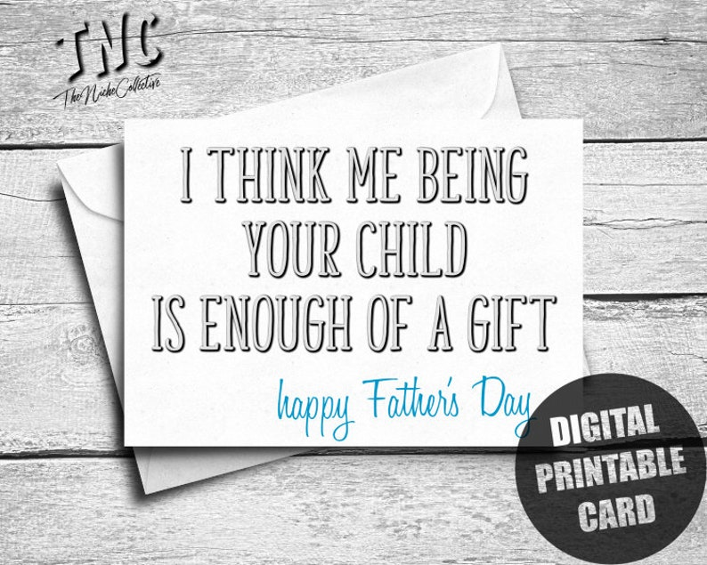 photo about Father's Day Card Printable referred to as Amusing Fathers Working day Card, Printable, Versus Daughter, Son, Impolite Pleased Fathers Working day, Electronic Obtain, Snarky Card For Father, Sarcastic, Cheeky