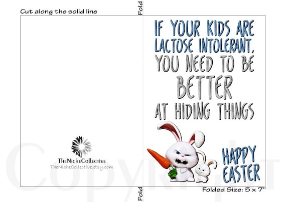 graphic about Easter Card Printable referred to as Amusing Easter Card, Printable, Delighted Easter Card, Easter Greeting Card, Easter Bunny Card, Blank Easter Card, Electronic Down load, Easter Humor