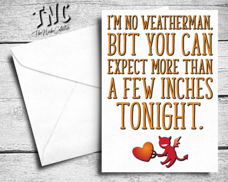 Naughty Valentines Card Her Funny Anniversary Wife