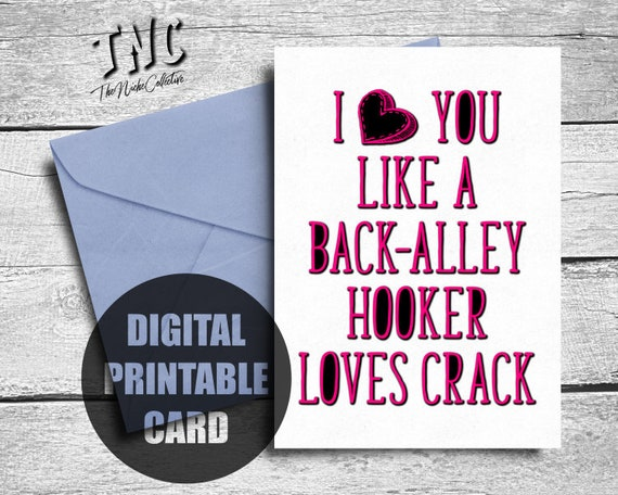 graphic regarding Funny Valentines Day Cards Printable named Amusing Valentines Working day Card For Him, Printable, Anniversary Card Partner, Birthday Card Boyfriend, Grownup I Take pleasure in Yourself Which include Card, Humorous Delight in Card