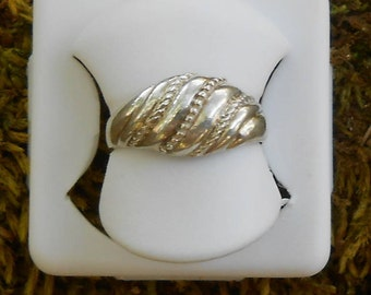 Fashion ring in 950 silver, gift for her