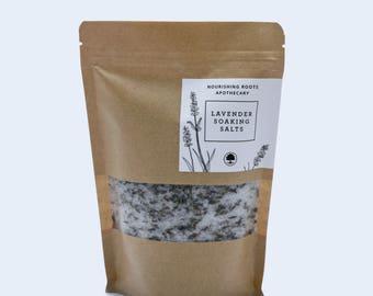Lavender Soaking Salts
