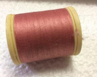 Thread, 100% cotton, DMC, pronounced rose 3329