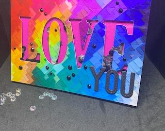 map to shake LOVE YOU rainbow