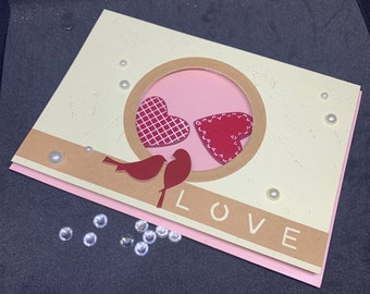 Unique Valentine's day card ... love - birds;-)
