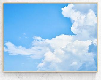 Cloud poster Sky print