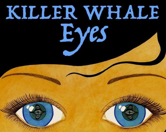 Children's Book: Killer Whale Eyes 2019 EDITION signed by author (audiobook CD included)
