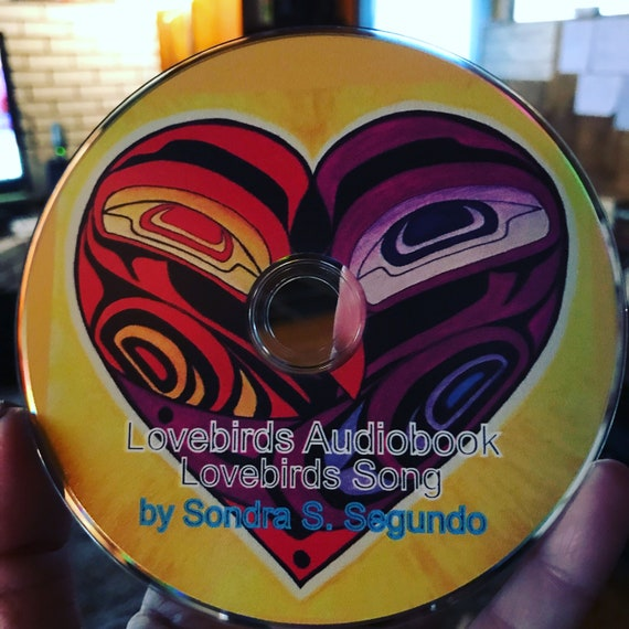 Audiobook/Song CD of Lovebirds-The True Story of Raven & Eagle