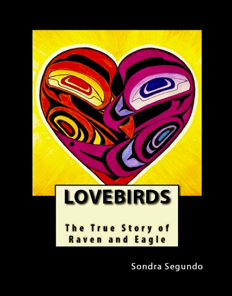 Children's Book: Lovebirds-The True Story of Raven and image 0