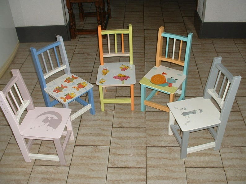 Small Child Chair Or Reborn Deco Craft