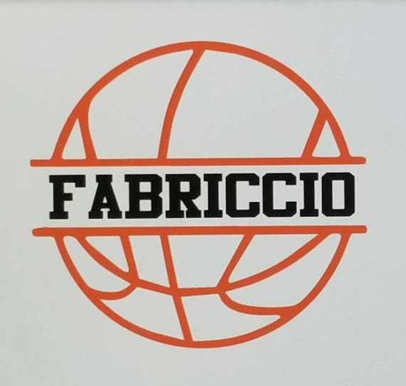 0e60e60f0df Personalized Basketball Decal/Basketball Decal/Custom | Etsy
