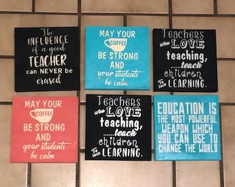 Teacher Appreciation signs