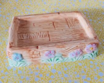Ceramic Soap Dish Vintage Soap Dish French Farmhouse Vintage Decor