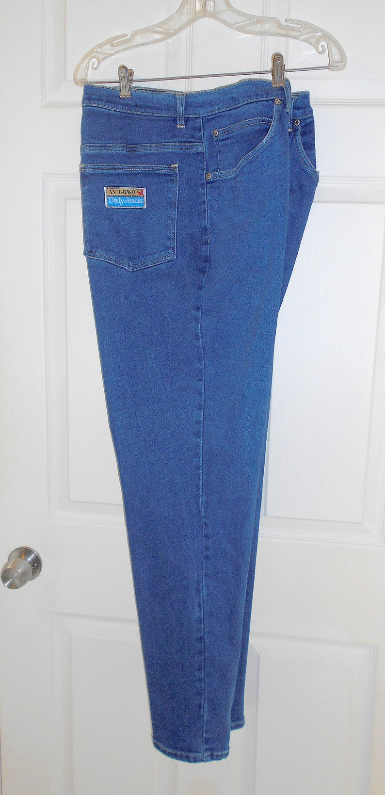 7c1b87bb10a Vintage Women s Anti Basic Daily Jeans High-Waisted Stretch Jeans Size 22