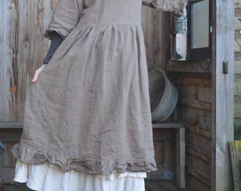 Candice linen dress