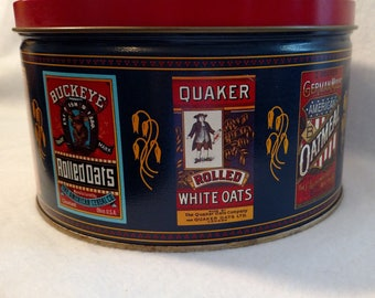 1983 Quaker Oats Tin