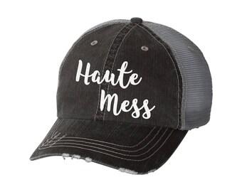 a408e953b Hot mess hat | Etsy