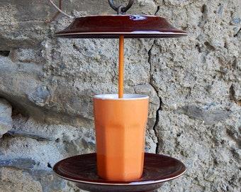 """Coffee break"" bird feeder"