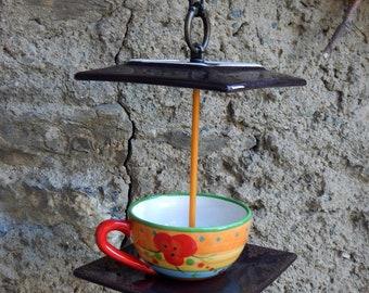 Naughty treat bird feeder