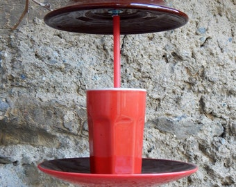 Bistro bird feeder