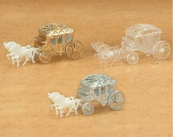 24 Fillable Horse And Carriage/coach - Set of 24
