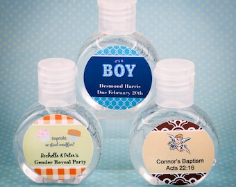 100 Personalized Spray Credit Card Hand Sanitizer Wedding Shower Party Favors