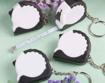 24  Key Chain / Measuring Tape Favors - Set of 24