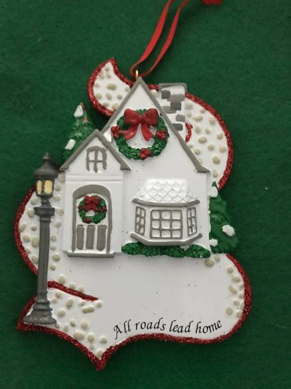All Roads Lead Home Ornament Etsy