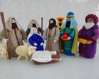 Рождественский вертеп Christmas Nativity scene