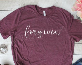 Forgiven T-Shirt | Forgiven Tee | Forgiven Boutique Shirt | Boutique Tee