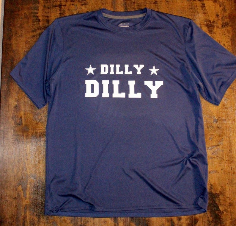 a1ca589d DILLY DILLY Shirt Dallas Cowboys shirt Cowboys shirt | Etsy