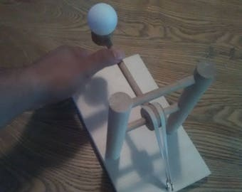 Kids wooden toy catapult, great gift for kids!