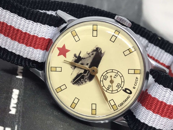 Military watch Pobeda ZIM, mens ussr watch, mens w