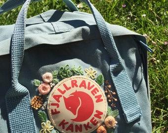 7cf05cbf Fjallraven Kanken Embroidery Backpack