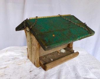 Rustic Homemade Bird Feeder