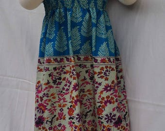 """""""Portion and straps"""" Sun dress for little girl 36months"""