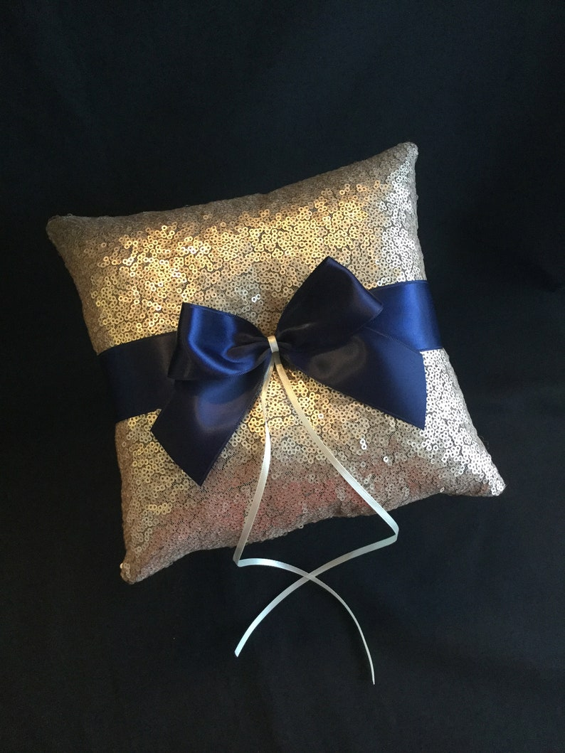 wedding flower girl basket Champagne flower girl basket wedding ring bearer pillow navy flower girl basket champagne ring bearer pillow
