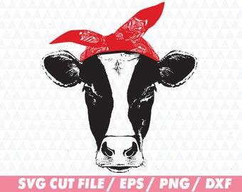 Heifer svg, Cow svg, Distressed cow svg, Heifer please svg, Cow cut file, Heifer cut file, Svg file, Animal svg, Bandana svg, Heifer cricut